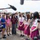 乃木坂46メンバーが10代と「Sing Out!」を大合唱