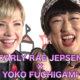 世界の歌姫も大爆笑!YOKO FUCHIGAMIが止まらない!!CARLY RAE JEPSEN