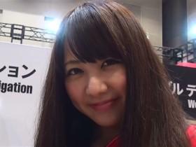 東京モーターサイクルショーの美人コンパニオン
