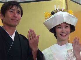 中田浩二 長澤奈央 結婚お披露目会 「宵の嫁入り舟」